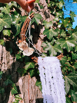 Snow Moon Dreamcatcher