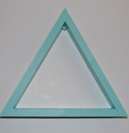 Mint Triangle Shelf