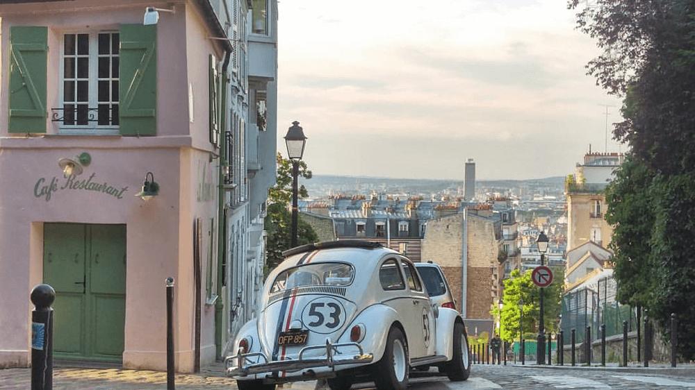 Coccinelle Choupette à Monte Carlo