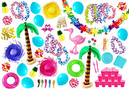 goodies plage, goodies tropical, decoration soiree plage, decoration soiree tropical
