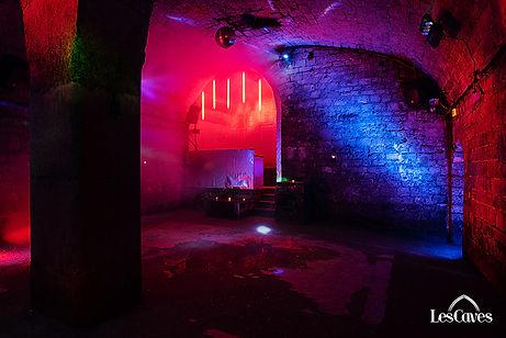 caves chapelais jeu de lumières pour soirée