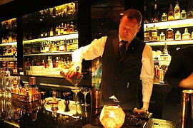 Bar a whisky pour soiree prohibition