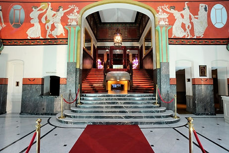 Salle Wagram hall d'accueil