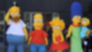mascottes les simpsons, animation mascotte simpsons, louer mascottes les simpsons