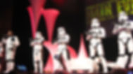 Animation acteurs STAR WARS pour evenement