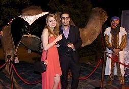 Animal chameau pour evenement et soiree