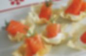 animation traiteur filet de saumon