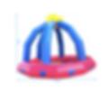 Location piscine a boules multicolores gonflable