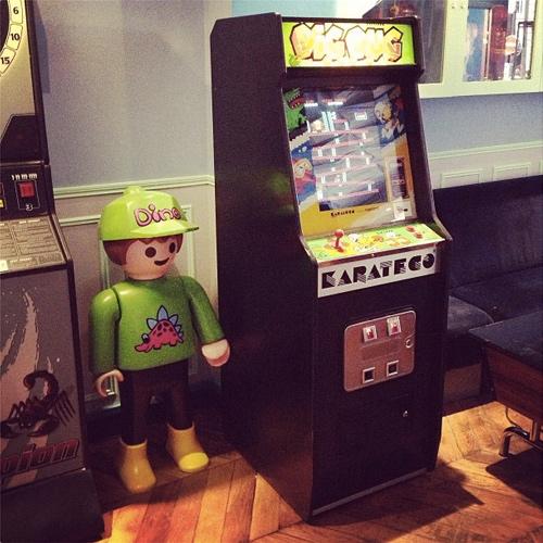 Location borne arcade personnalisée