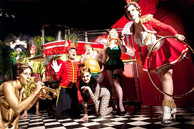 Animations pour soiree thème cirque