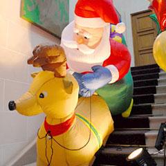 Animation décor de Noël Paris