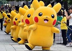 Mascotte Pikachu