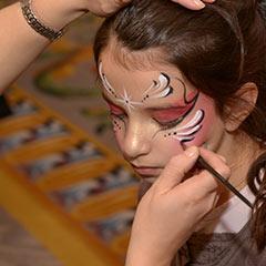 maquillage de noël paris