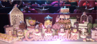 Animation bar a bonbons, animation bar a gourmandises, Bar a bonbons pour evenement