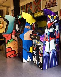 Location borne d'arcade pour soiree