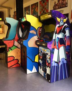 Location borne arcade IDF
