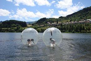Bulle sur eau pour evenement