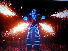Robot LED pour soiree