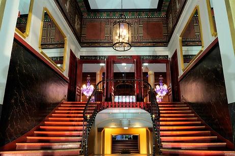 Salle Wagram escalier