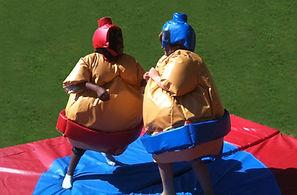 Location sumos gonflables pour evenement et WEI