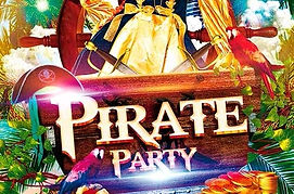 Animations pour soiree pirate