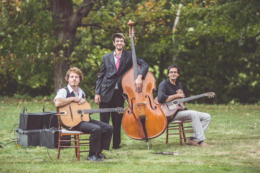 Groupe de jazz manouche pour mariage