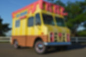 animation ice cream truck, animation camion a glaces, camion a glaces pour evenement