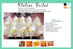 Atelier Frites fraîches