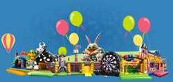 Plaine de jeux gonflables enfants