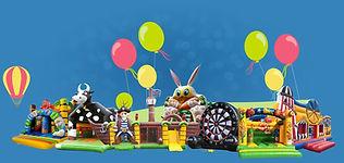Aire de jeux gonflables pour enfants