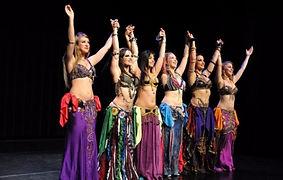 Danseuses orientales pour soiree