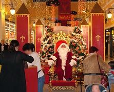 Stand photo Père Noël