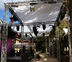 location structure soiree, location structure evenement, location scene soiree, location scene evenement