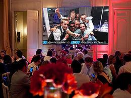 Social wall pour evenement et soiree
