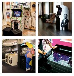 4 exemples de bornes d'arcade pour des événements