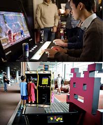louer une borne d'arcade et jouer