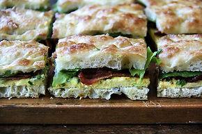 animation sandwich focaccia, traiteur sandwichs focaccia