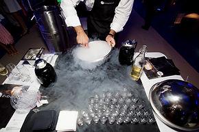 animation bar moleculaire, animation cuisine moleculaire, cuisine moleculaire pour evenement