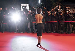 Effet horde de paparazzis sur le tapis rouge pour gala etudiant