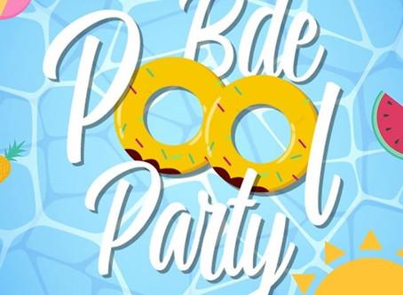 La première BDE Pool Party restera dans les mémoires !