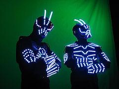 """Duo Percu' & Instru"""" à LEDs"""