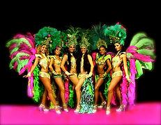 Danseuses bresiliennes pour soiree