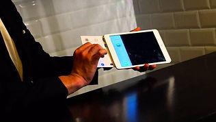 Magicien moderne iPad pour evenement et soiree