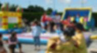 Plaine de jeux gonflables pour enfants