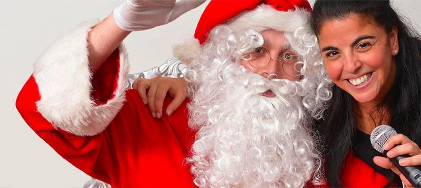 Stand photo du Père Noël