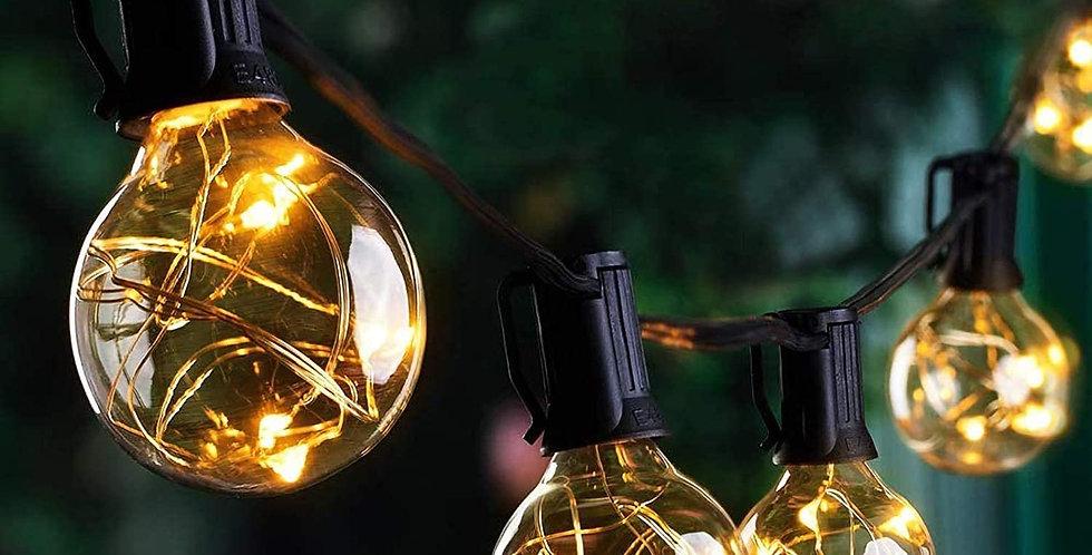 back yard lighting