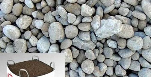 River Rock per pack/cubical yard