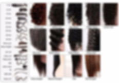 curl pattern for custom lace wigs