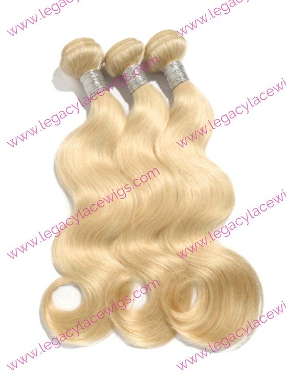 Blonde Weft Body Wave 360