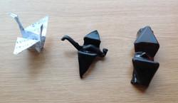 Glass Origami prototypes